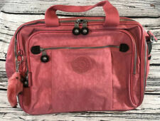 Kipling Travel Carry On Luggage Bag SL2416 Pink 16 x 12 x 8 Denise Monkey