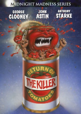 Return of The Killer Tomatoes With George Clooney DVD Region 1 014381729320