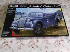 Revell 03099 German staff car almirante cabriolet - 1/35