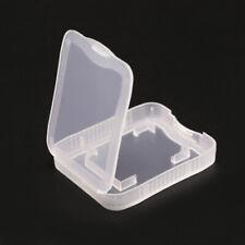 SD MS Micro TF Memory Card Plastic Storage Box Protective Case Holder 100 pcs