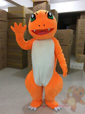 Brand Pokemon Go Charmander Dragon Mascot Costume cosplay game party Fancy Dress