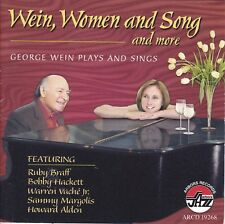 WIEN, WOMEN and SONG and MORE George Wein Plays and Sings CD - Jazz
