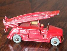Matchbox Lesney 9 B Dennis Fire Escape
