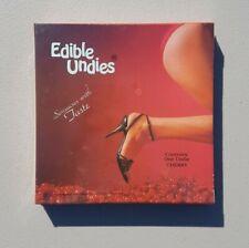 Vintage 1980s Womens Sexy Adult Edible Retro Erotica Underwear Panties Flavored