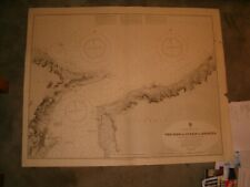 Vintage Admiralty Chart 177 ITALY - STRAIT OF MESSINA 1917 edition