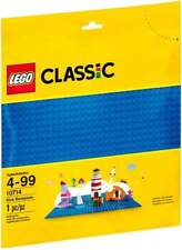 "LEGO BASE/PLATE LARGE 32x32 BLUE 10"" x 10"", 25cm x 25cm  No 10714"
