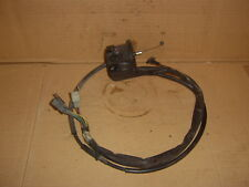 yamaha xj600 diversion 1996 n/s switch gear+choke lever+cable