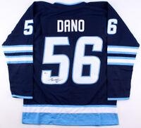 Marko Dano Signed Jets Jersey (Beckett COA) Playing career 2014–present