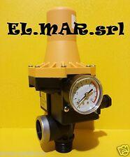 Presscontrol Elettronico x Autoclave pompa elettropompa 10 A LEPORIS + manometro