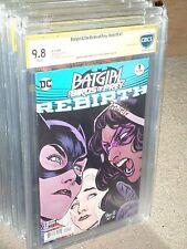 Batgirl Birds of Prey #1 Variant CBCS 9.8 SS Paquette Rebirth 1st Print CGC