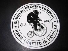 SUDWERK BREWING COMPANY Funke Hop Farm STICKER label decal craft beer brewery