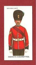 The ROYAL DUBLIN FUSILIERS The BLUECAPS The DUBS  Sergeant Uniform  card