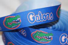 "Florida inspired 7/8"" Blue Grosgrain Ribbon - By The Yard - USA Seller"