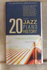 Coffret 20 CD JAZZ Piano History (livret inclus) état très bon
