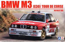 BMW M3 E30 '89 Rally Tour De Corse 1:24 Model Kit Bausatz Beemax Aoshima B24016