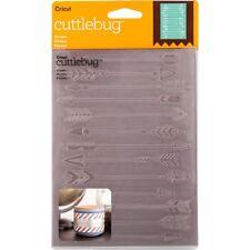 """Cricut Cuttlebug ARROWS 2003452 Embossing Folder 5"""" x 7"""""""