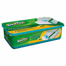 6x Swiffer 24 Moist Floor Cleaning Cloths Citrus Dust Hairs Sweeper Wet