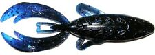 "Big Bite Baits 4"" Rojas Fighting Frog - Black Blue Flake Sapphire"