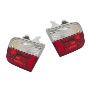 New Pair Set Rear Back-Up Backup Lights w/ Housing for 99-03 BMW 3 Series 2 Door
