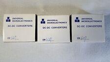DC-DC CONVERTER UM627 UNIVERSAL MICROELECTRONICS.( Lots of 3 new )