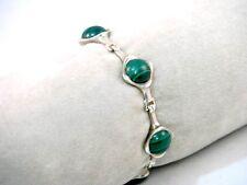 Malachit Armband Silber 925 Sterling Silver Bracelet