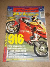 Fast Bikes March 1994 Ducati 916