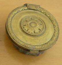 1 GRILLES DE VENTILLATION ANCIEN CHEMINEE CHAUFFAGE LAITON LOUIS PHILIPPE 1830