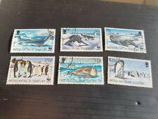 BRITISH ANTARCTIC TERRITORY 1992 SG 208-213 SEALS AND PENGUINS USED