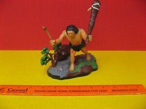 1971 AURORA PREHISTORIC SCENES CAVEMAN - NEANDERTHAL MAN  HOMO SAPIENS MODEL 729