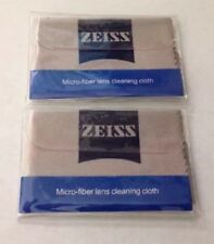 2 Zeiss High Quality Microfiber Camera Lens Cleaning Cloth eyeglasse iphone