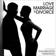 Toni Braxton & Babyf - Love Marriage & Divorce [New CD]