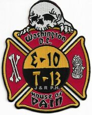 """Engine 33 // Truck 8  /""""Protecting the Valley/""""  fire patch Washington D.C"""