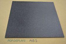 ABS SHEET POP DISPLAYS SAMPLE OF COLOR BLACK ABS