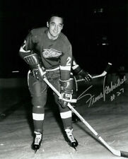 FRANK MAHOVLICH Signed DETROIT RED WINGS 8x10 Photo HOF