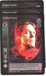 Ardan Lane x3 Tremere AE Jyhad VTES