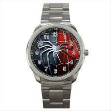 NEW* HOT SPIDERMAN Quality Sport Metal Wrist Watch