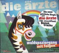 DIE ÄRZTE / WALDSPAZIERGANG MIT FOLGEN + SOHN DER LEERE * SINGLE CD 2013 * NEU *