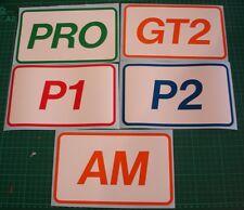 LEMANS LE MANS RACE CAR GT DECAL STICKER