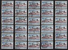 P1* Timbres France Oblitérés x30 1973 Château de Gien n°1758