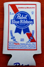 2 Pabst Blue Ribbon Beer Koozies for 16 oz can or bottle Pbr