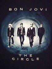 Bon Jovi The Circle Concert Tour 2010 Black Souvenir Rock Music T Shirt L