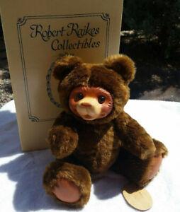 "Rare  Robert Raikes Mohair Bear ""Misha"" Serial Number 10/12B  13"""