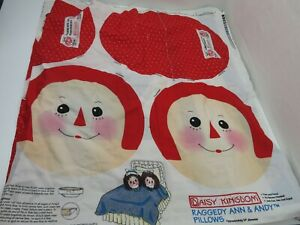 Raggedy Ann & Andy Daisy Kingdom Pillow Patterns