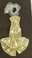 Barbie Vintage Clone Mermaid Gown Gold Lame & Sparkle Wrap