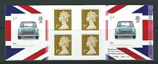 GREAT BRITAIN 2009 BRITISH DESIGN THE MINI CYLINDER BOOKLET UNMOUNTED MINT