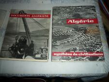 ALGERIE documents algériens synthèse civilisations 2 volumes