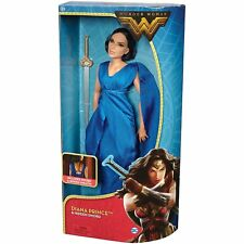 "DC Wonder Woman Diana Prince & Hidden Sword Doll 12"" - Exquisite evening gown"
