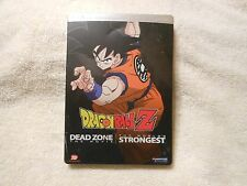 Dragon Ball Z - Double Feature (DVD, 2-Disc, Steelbook)**GENUINE** *PLAYS 100%**