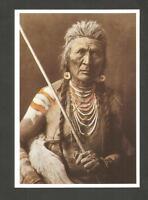 CARTE POSTALE INDIEN AMERIQUE WOLF APSAROKE MOUNTAIN CROW LOUP