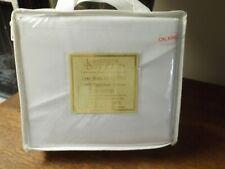 Nip! Js Sanders White Egyptian 1200 Tc California King Sheet Set